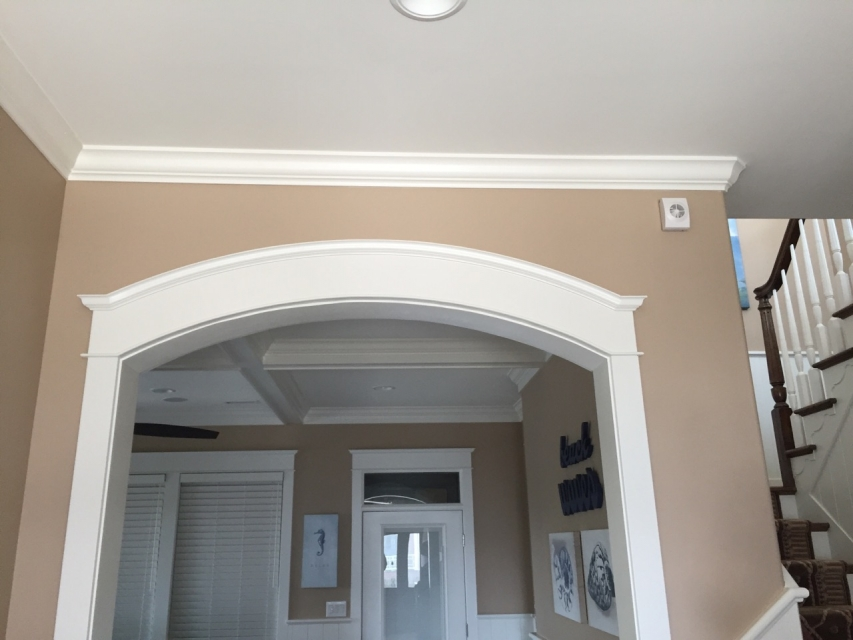 Archway Door Casing Amp How To Make Arched Window Trim