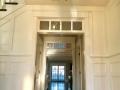 wainscote.transom door