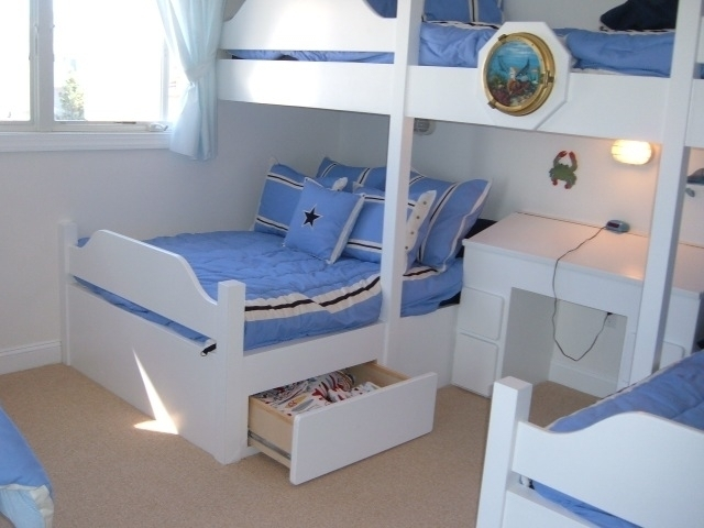 Bunkbeds boyle finish carpenters for Bunk bed and bang