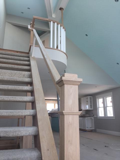 railing install